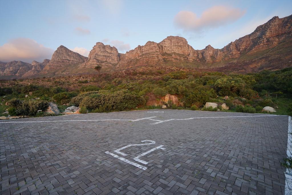 Das Leading Hotel of the World verfügt über einen eigenen Hubschrauber Start- und Landeplatz, direkt hinter dem Hotel