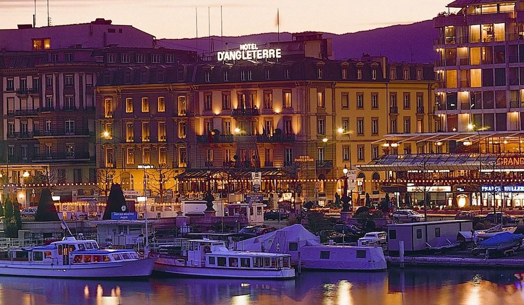 In Genf präsentier sich das 5 Sterne Hotel d'Angleterre