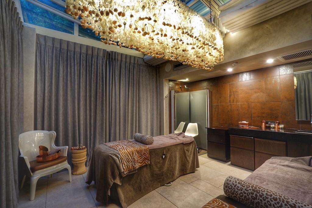 Im Saxon Hotel, Villas & Spa stehen die verschiedenen Treatment-Rooms zur Verfügung - selbstverständlich alle im afrikanischen Style gehalten