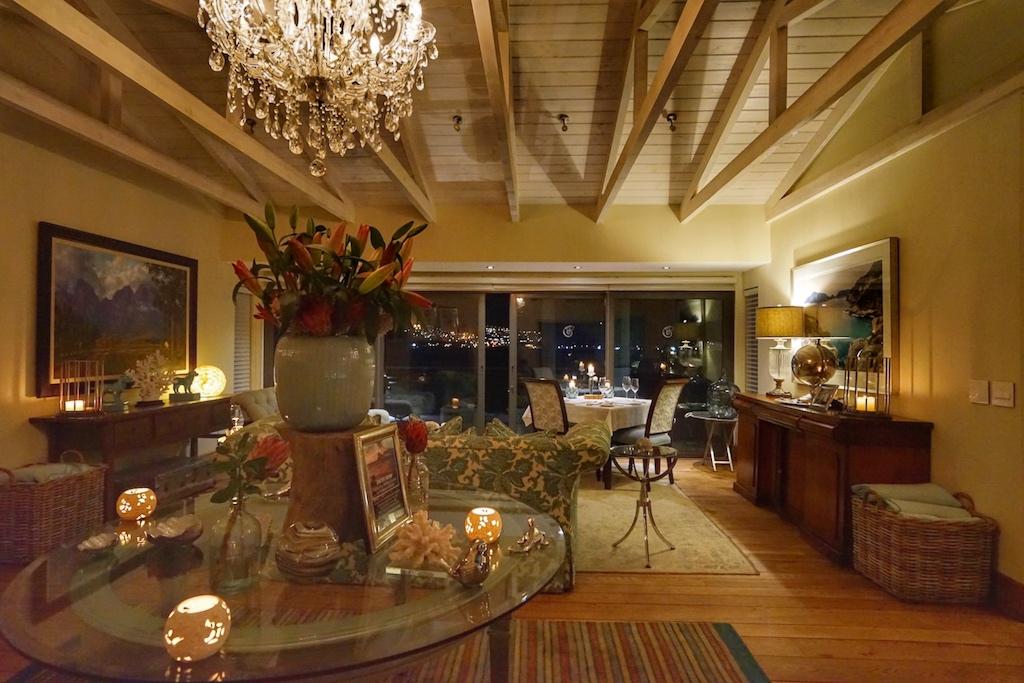 Im Tintswalo Atlantic erinnert ehr alles an ein gemütliches Wohnzimmer