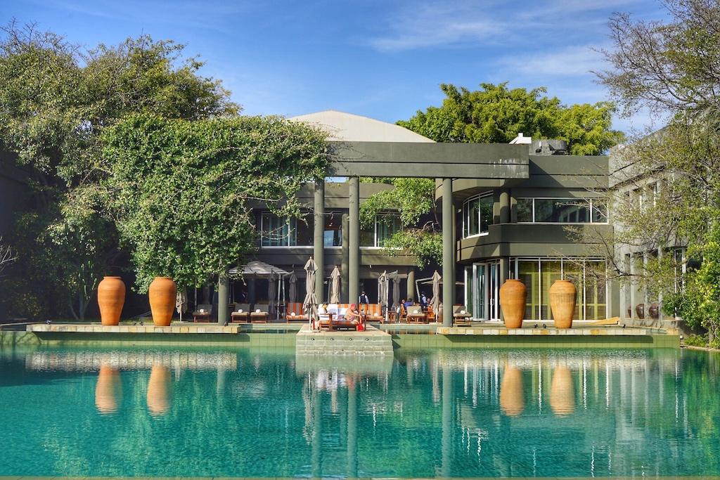 """Das Saxon Hotel, Villas Spa zählt mit zu den schönsten in Afrika beheimateten Luxushotels, welches zur Vereinigung """"The Leading Hotels of the World"""" gehört"""