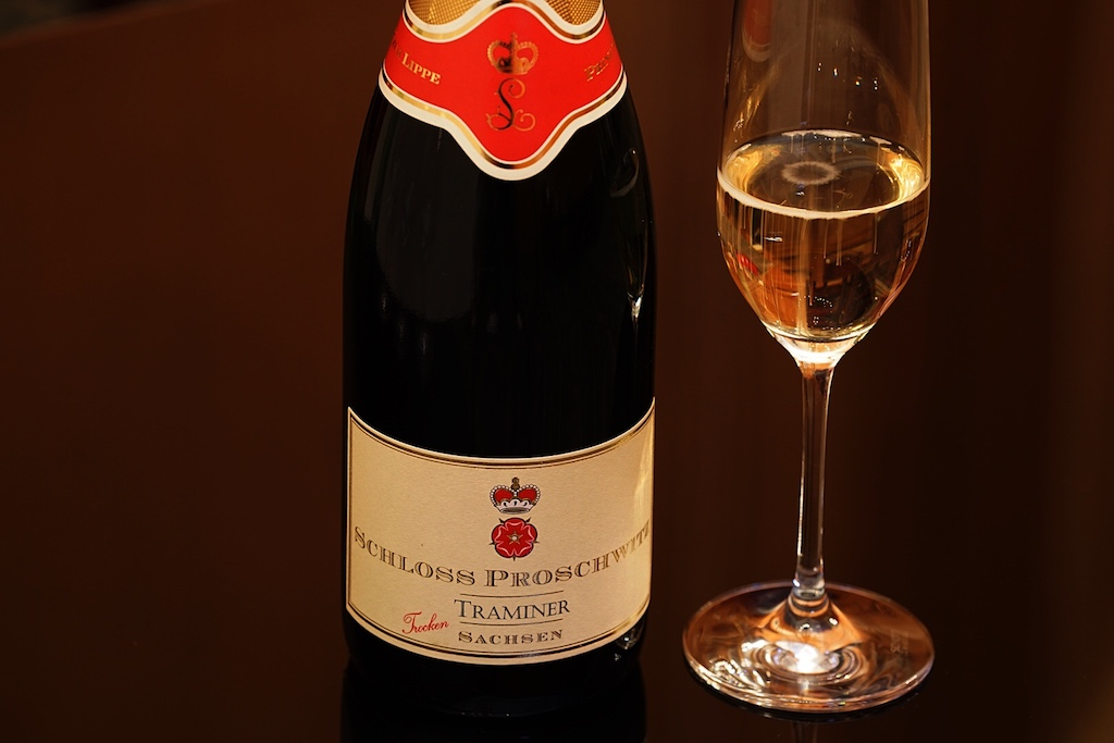 Weine und Sekte vom Weingut Schloss Proschwitz durften auf diesem Gourmetfestival natürlich fehlen
