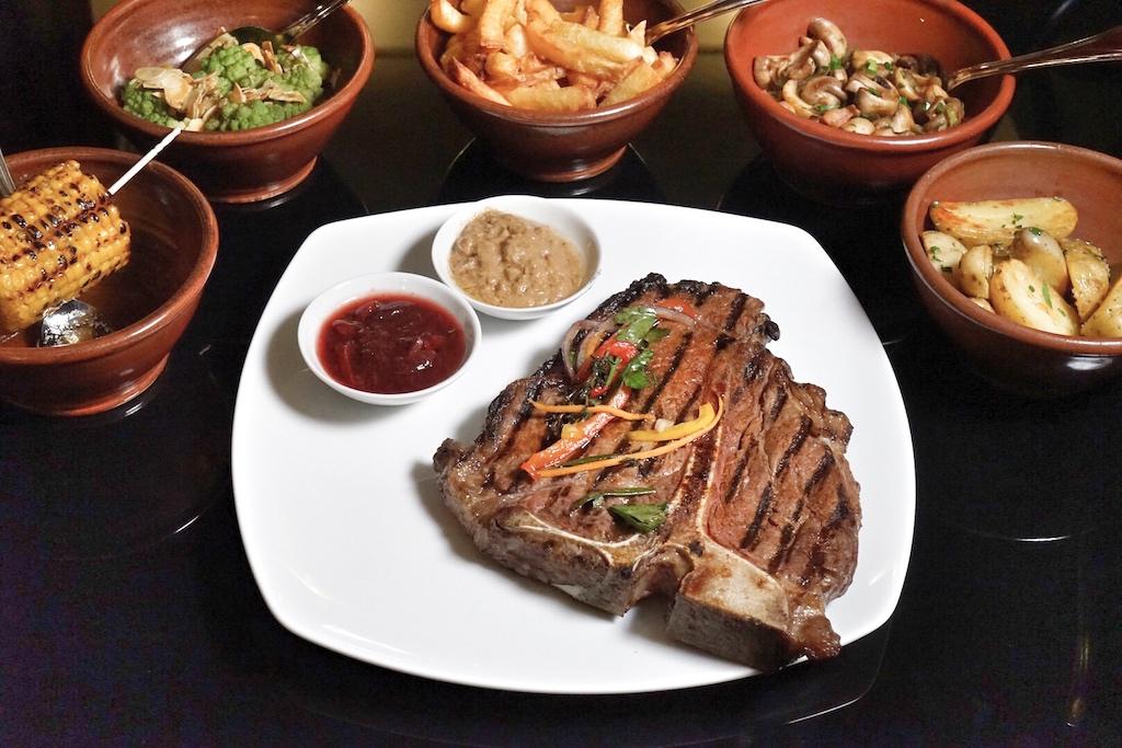 Der Fleischgenuss steht ganz klar im Fokus des Restaurants Steaktrain