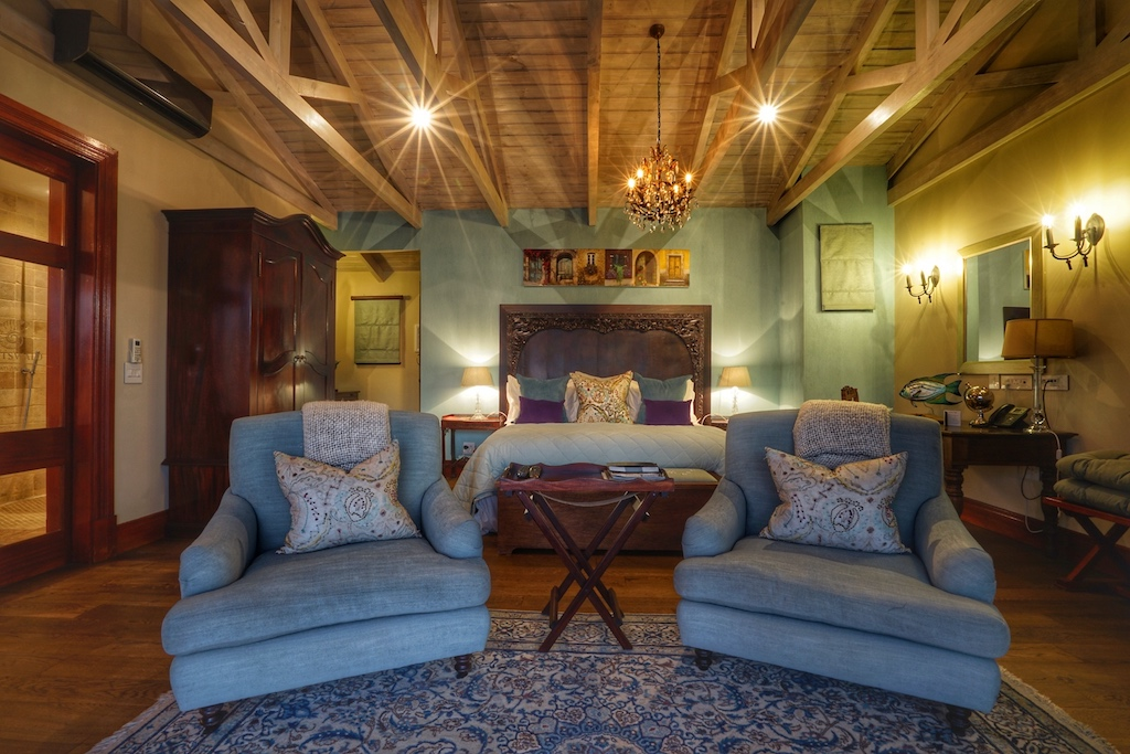 Im typisch karibischen Shabby-Chic-Stil dekoriert - die Antigua Suite
