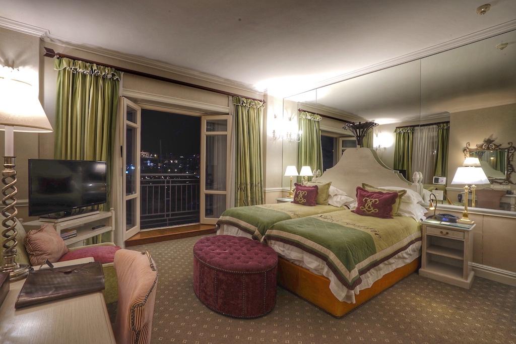 Ruhig gelegen, das zweite Schlafzimmer in der großen Suite