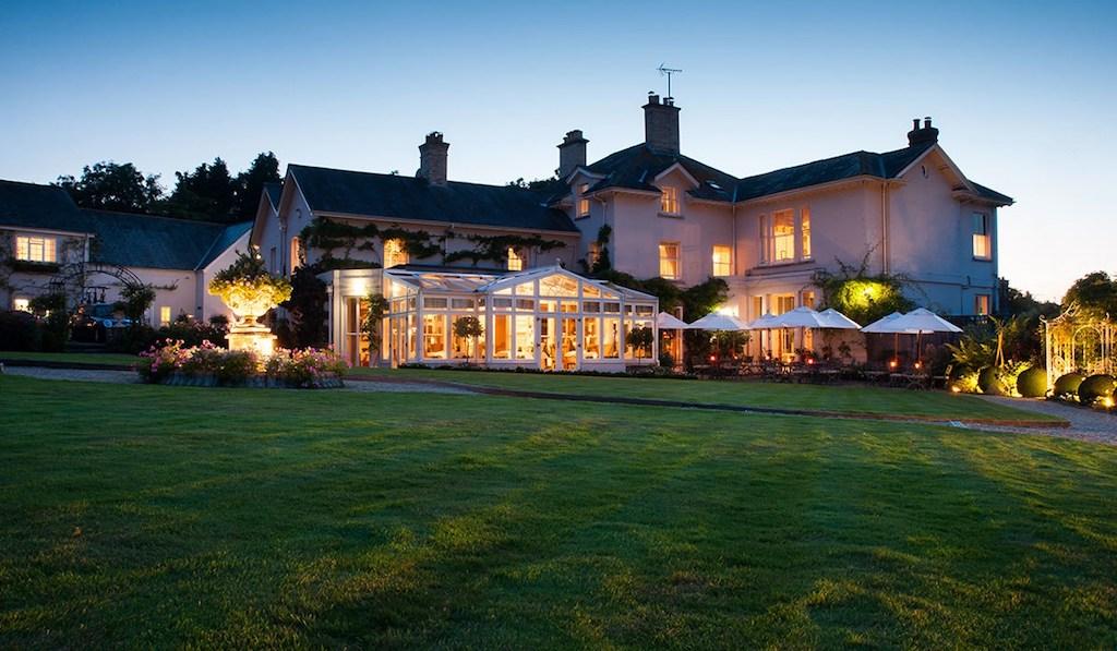 Im englischen Dorset liegend, dass Summer Lodge Country House