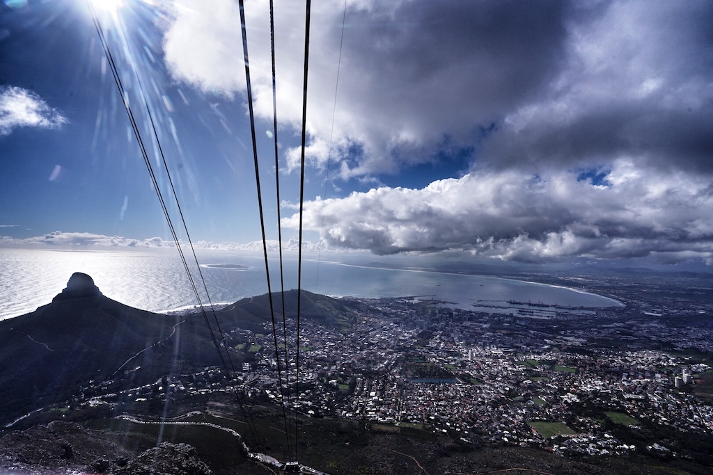Vom Tafelberg hat man eine fantastische Rundumsicht