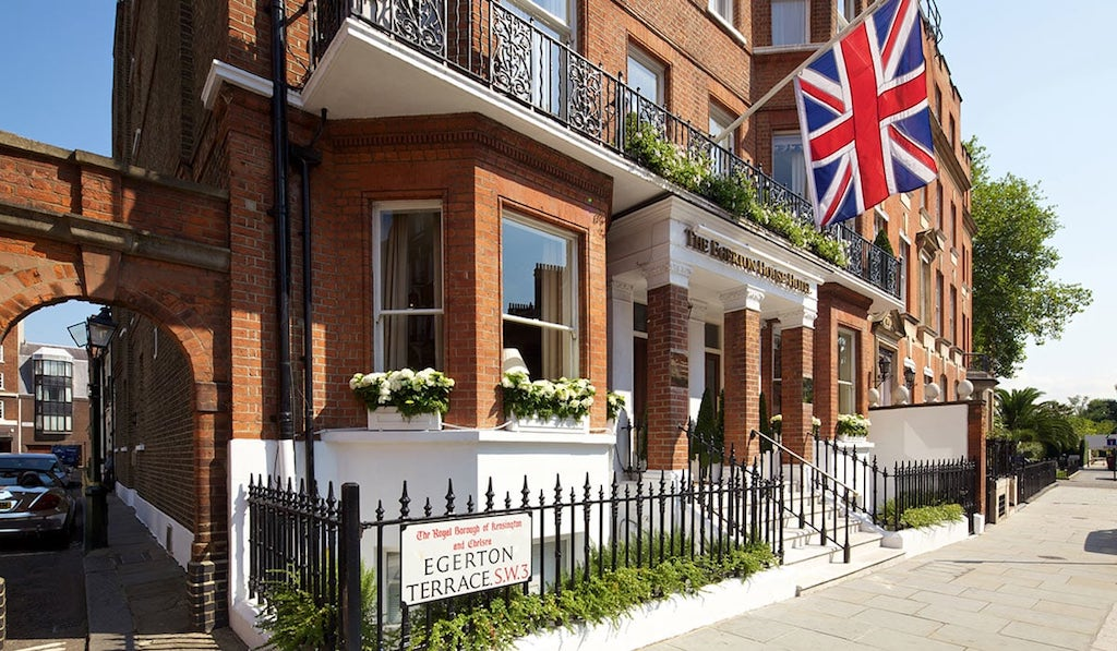 Das dritte 5 Sterne Haus in London: The Egerton House Hotel