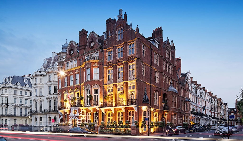 Ebenfalls in London beheimatet: TheMilestone Hotel