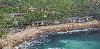Das Luxushotel Tintswalo Atlantic liegt traumhaft