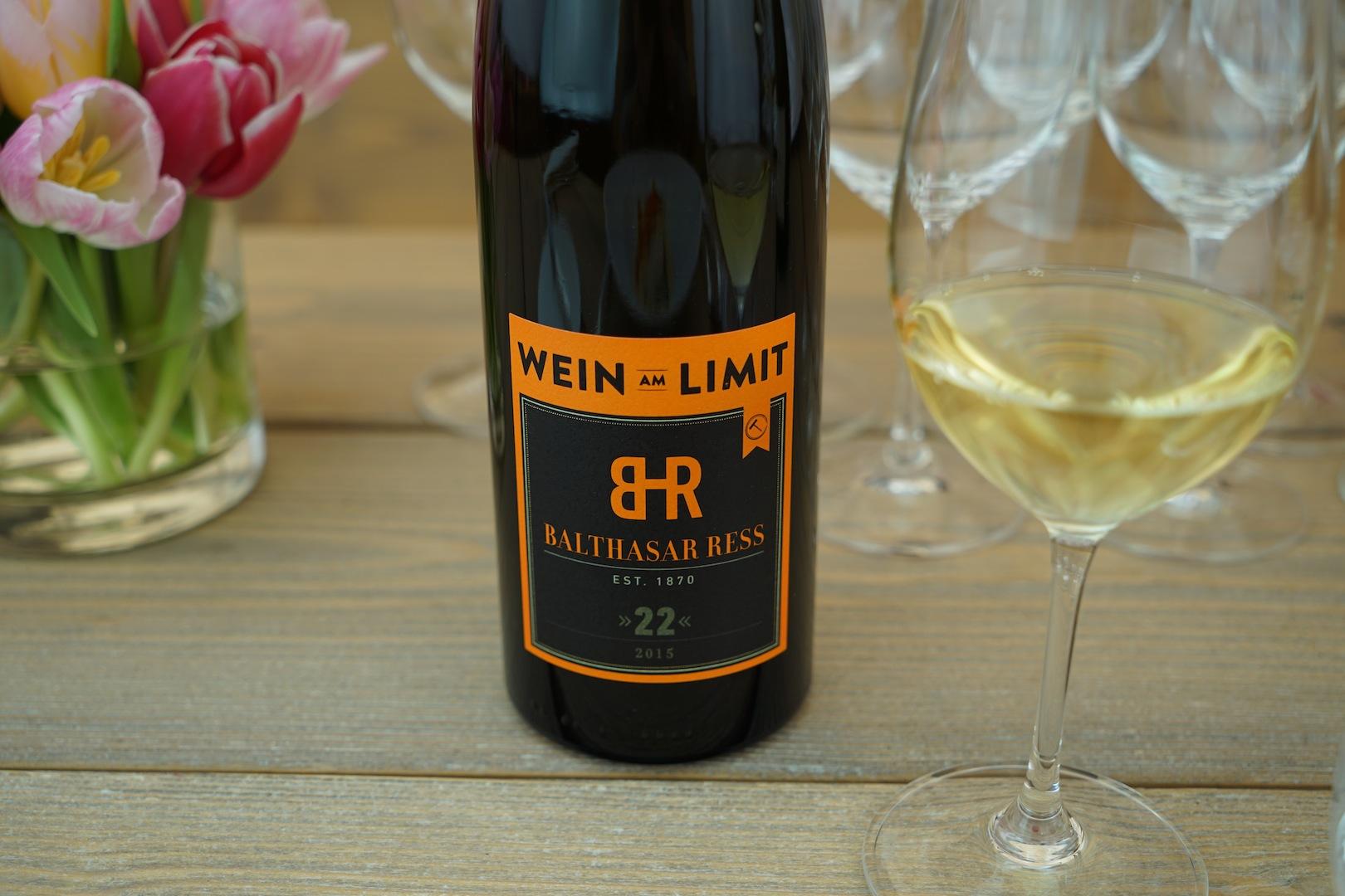 Dirk Würtz vom Rheingauer Weingut Balthasar Rees stellte den Rheingauer Landwein 22 vor, der 22 Monate auf der Hefe lag
