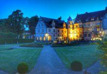 Im Schloss Schwöbber ist das einzigartige Schlosshotel Münchhausen beheimatet