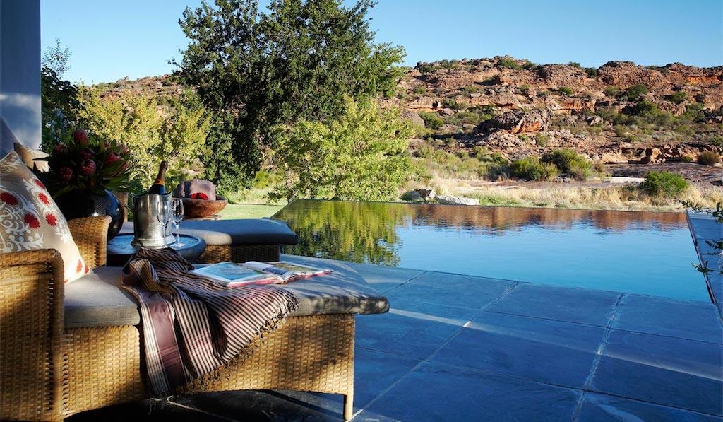 Das Bushmans Kloof Wilderness Reserve & Wellness Retreat zählt ebenfalls zu den Vorzeigeobjekten der Red Carnation Collection