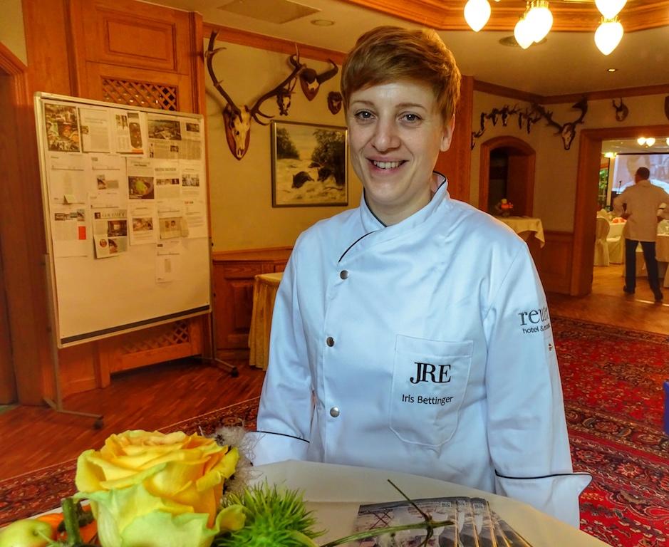 IrisBettinger wurde vom Schlemmer-Atlas als Köchin des Jahres ausgezeichnet