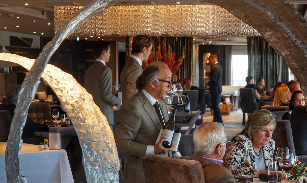 Master Sommelier Noël Vanwittenbergh ist das lebendige Weinlexikon des Amsterdamer 2 Sterne Restaurants