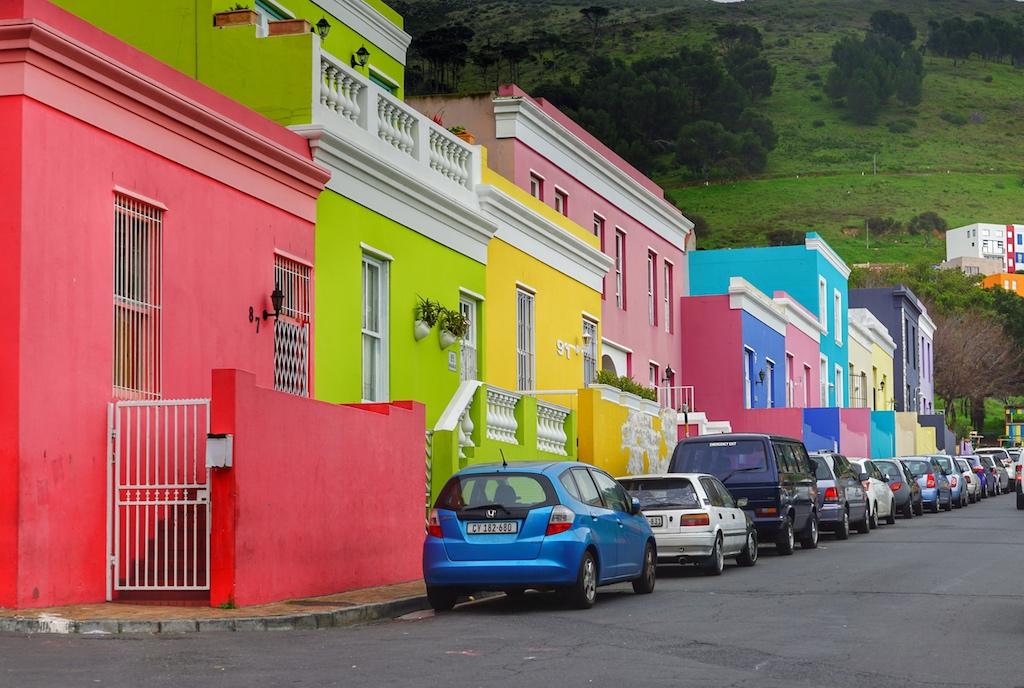 In der Nähe von dem farbenfrohen Stadtteil Bo-Kaap gibt es einige ...