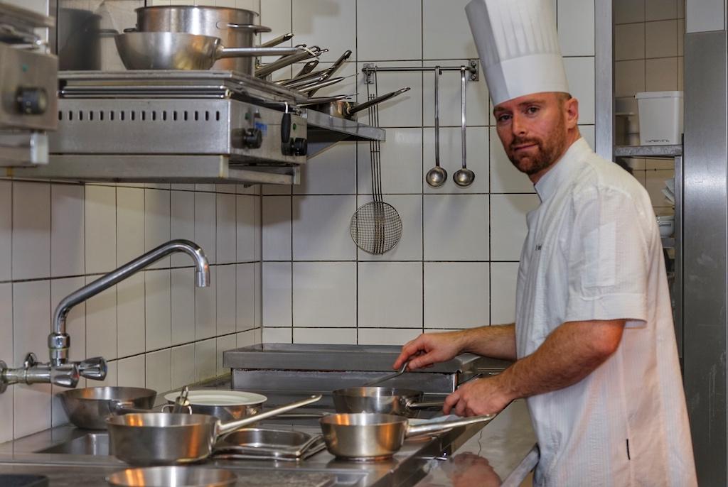 Auch Chefkoch Daniel Groß freut sich über gute Bewertungen seitens seiner Gäste