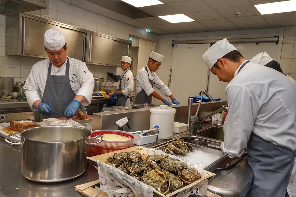 Frische und Saisonalität, qualitative Produkte und die Handwerkskunst der Köche machen die japanische Haute Cuisine aus