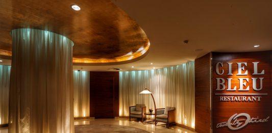 Einzigartiger Genusshorizont: Das 2 Sterne Restaurant Ciel Bleu in der 23. Etage des 5 Sterne Hotels Okura Amsterdam