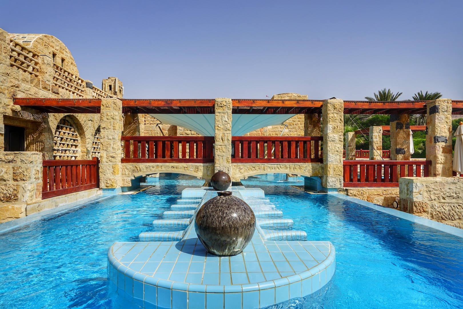 Das ZARA SPA im 5 Sterne Mövenpick Resort & Spa Dead Sea ist 2018 zum besten Spa im Nahen Osten gewählt worden