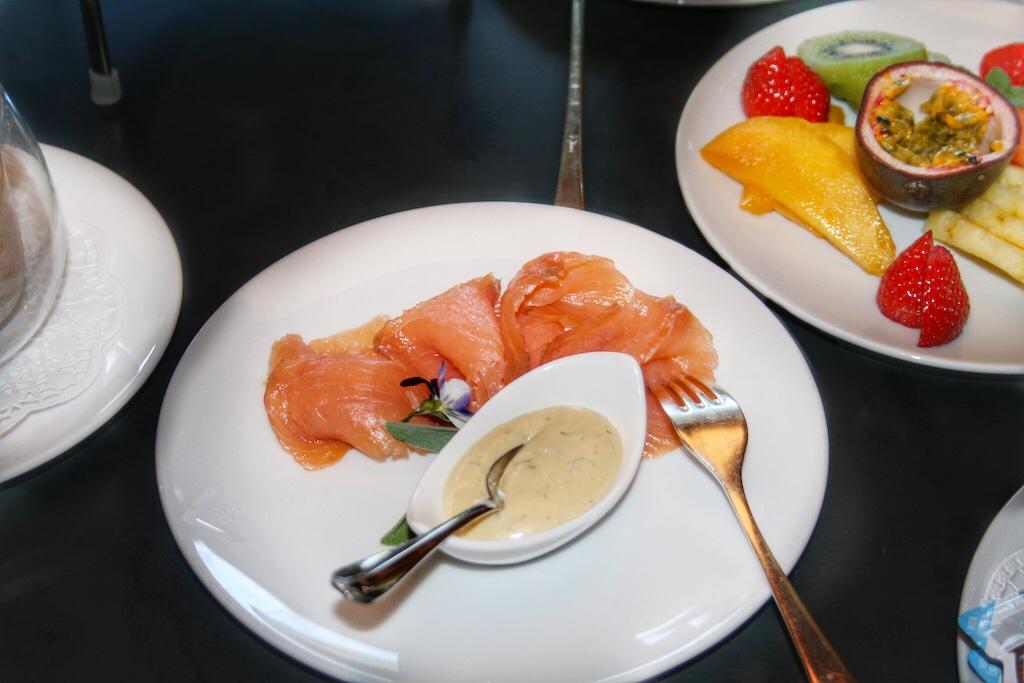 Frühstück ganz privat mit Lachsim privaten Reich – dem Chalet der Kitzbuehel Lodge