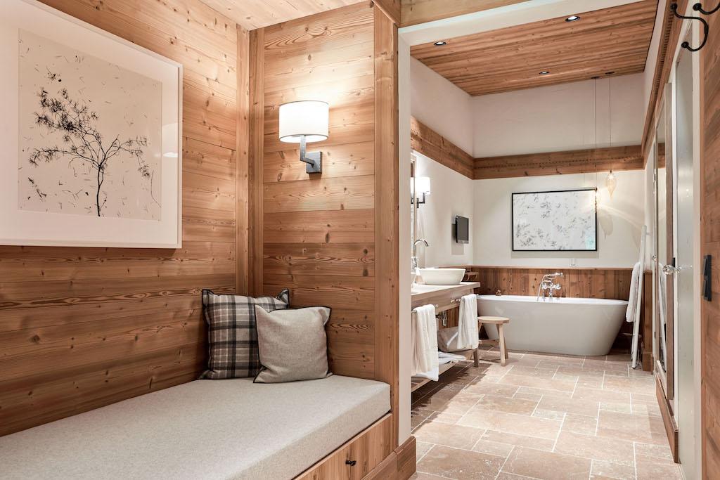 Das private Spa wird zum besonderen Erlebnis in der Penthouse-Suite