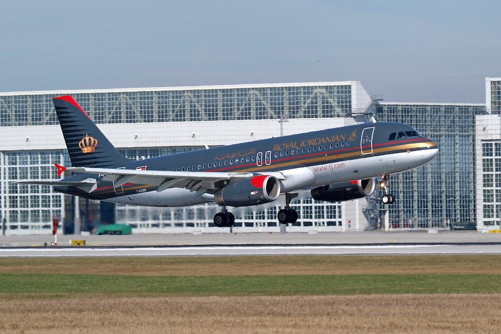 Mit einer Flotte von mehr als 30 Flugzeugen steuert Royal Jordanian vom Queen Alia International Airport (QAIA)Ziele inEuropa, Asien, Afrika und im gesamten Nahen Osten an