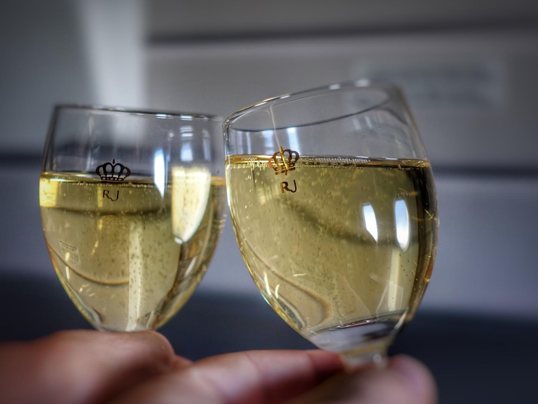 Champagner Tattinger BrutRéserve als Aperitif