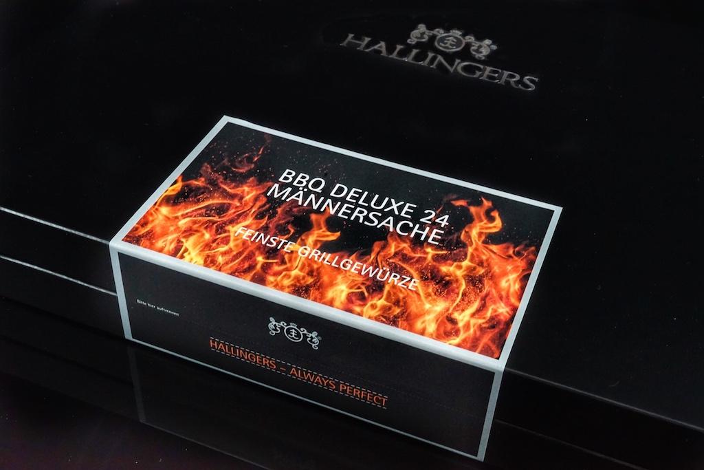 Die 24 Gewürze kommen in einer edlen, schwarzen Box