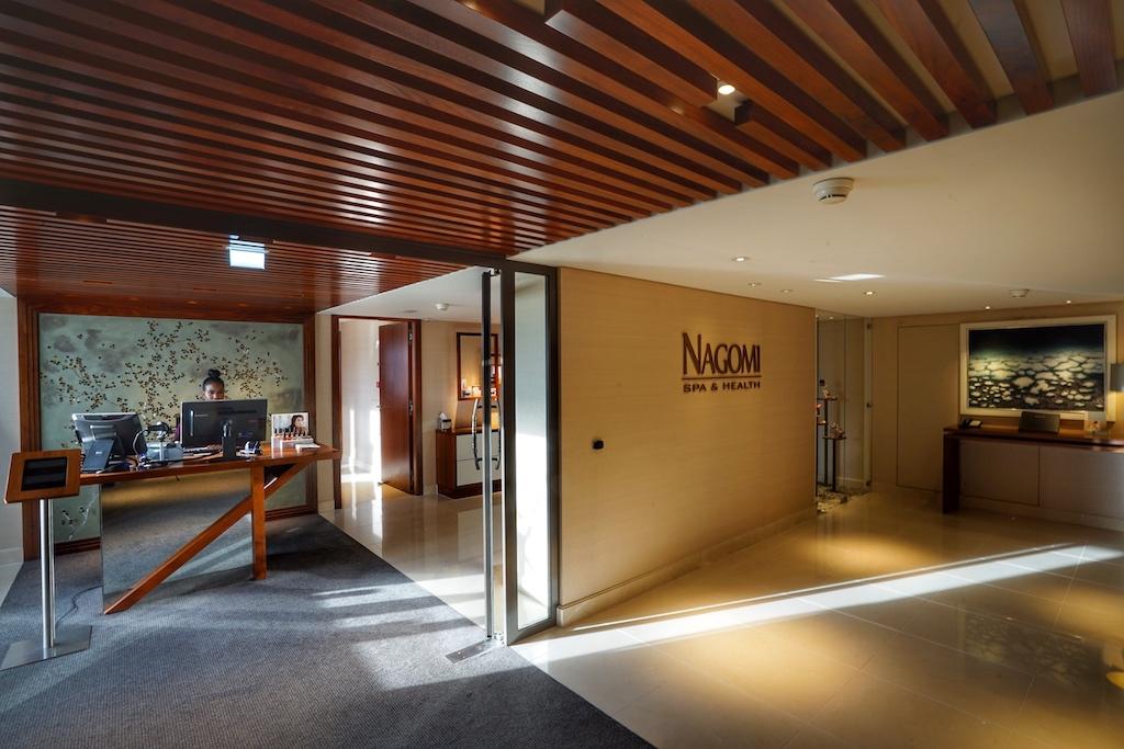Auf der dritten Etage im 5 Sterne Hotel Okura ist der Spa Bereich beheimate