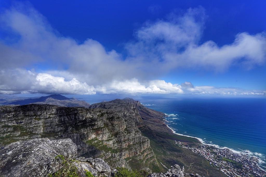 Traumhafte Aussicht vom Tafelberg