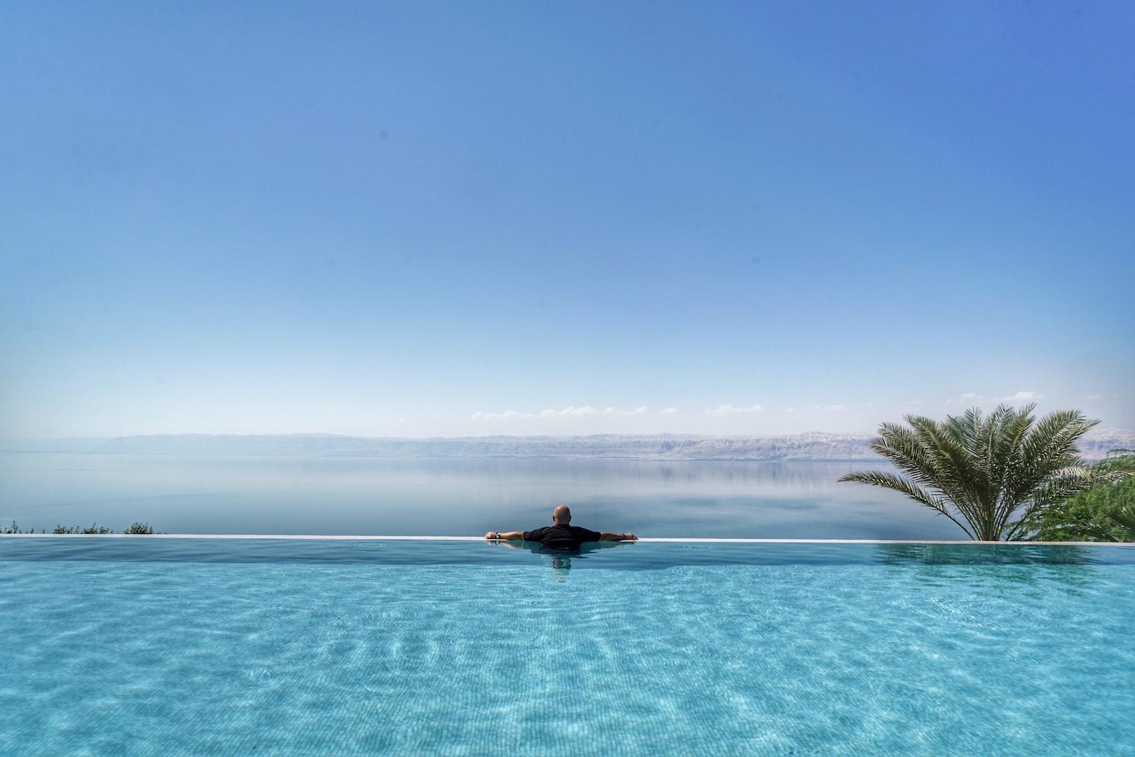 Auf ein Wiedersehen im 5 Sterne Mövepick Resort & Spa Dead Sea