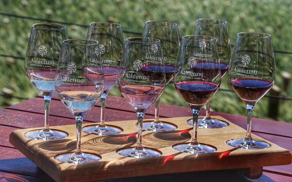 Während des Aufenthalts in Südafrikas Weinschatzkammer Stellenbosch empfiehlt sich ein Besuch des Weinguts Aaldering, um die Bandbreite der Weine zu verkosten