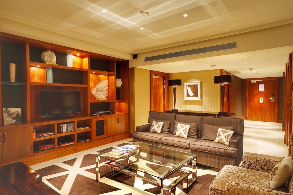 Wohlfühlmomente - erlebbar in der Imperial-Suite / © Redaktion FrontRowSociety.net