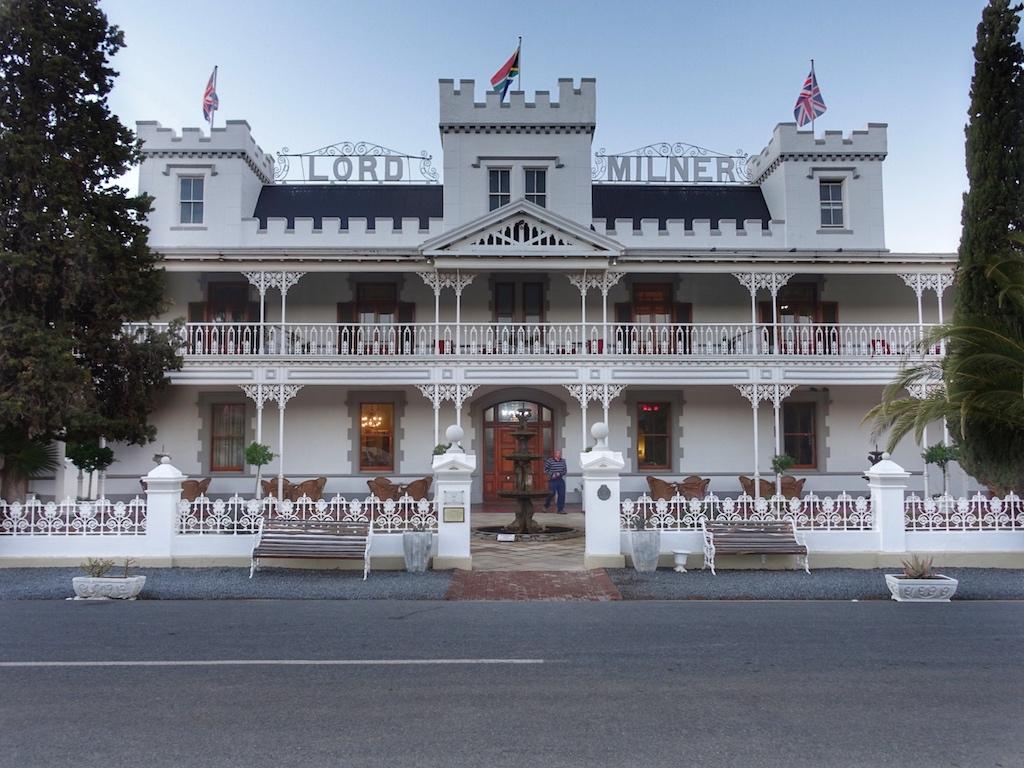 Das Lord Milner Hotel in Matjiesfontein beherbergte so manchen berühmten Gast