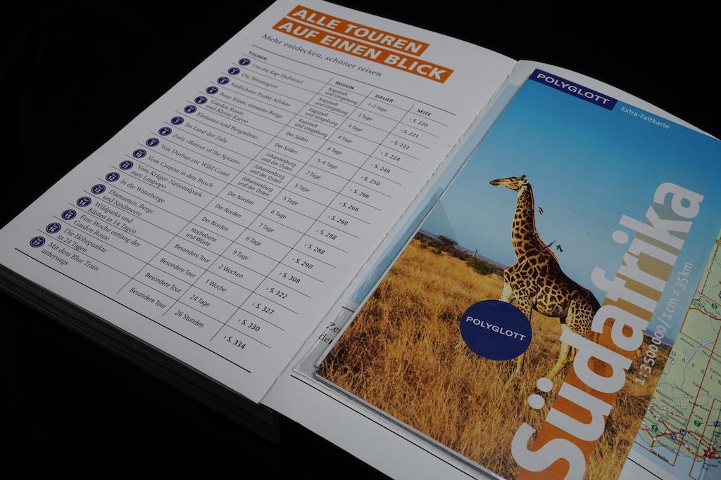 Der Südafrika Polyglott gehört in jeden Reisekoffer eines Südafrika-Touristen