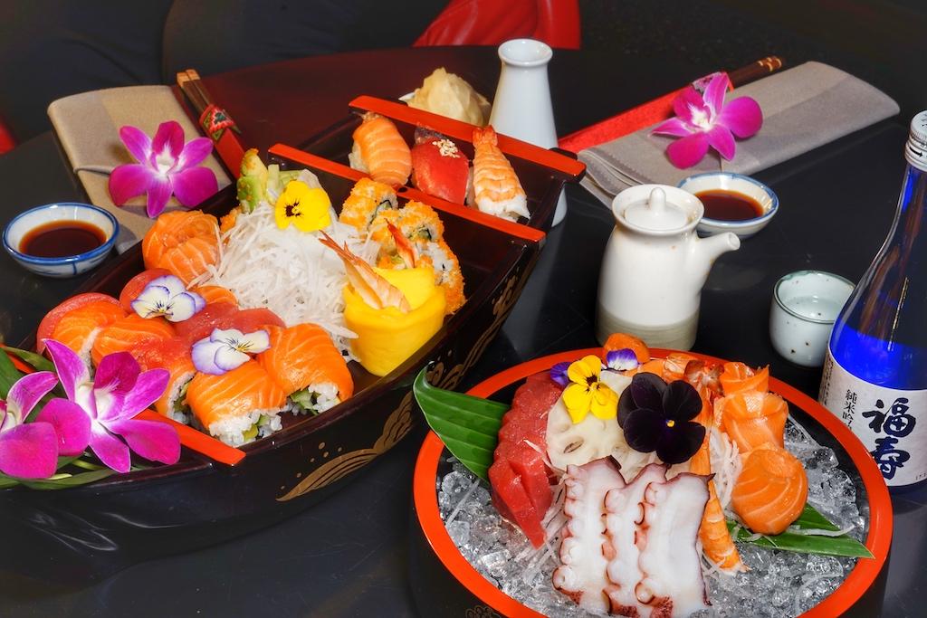 Absolute Hingucker sind die Sushi-Variationen von Chantira TUK Bedick und gleichfalls ein geschmackliches Erlebnis