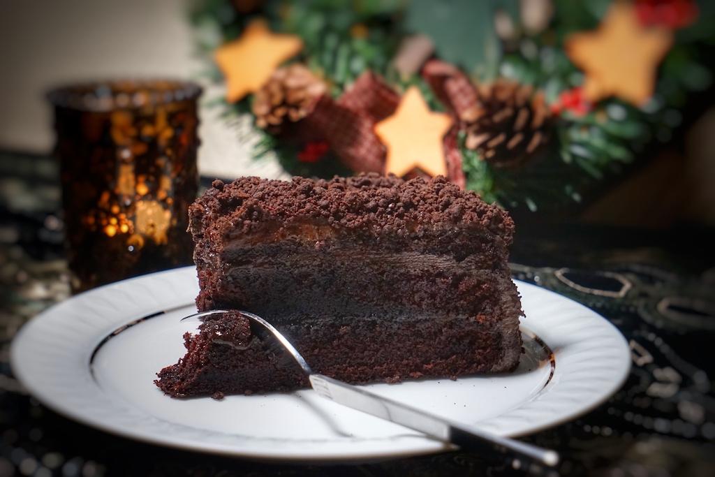 Der Brooklyn Blackout Cake - ein Stück Glückseligkeit