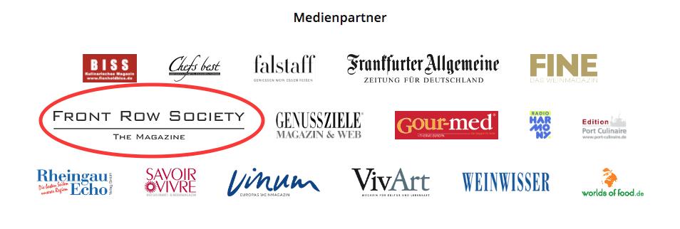 FrontRowSociety ist ebenso Medienpartner beim weltweit größten Gourmet-Festival, dem Rheingau Gourmet & Wein Festival
