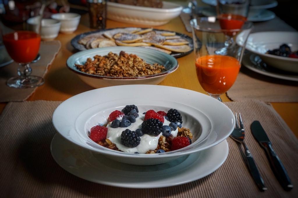 Ein gesundes Frühstück was jeden schmeckt