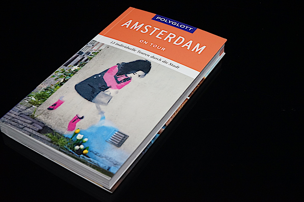 Polyglott, Amsterdam on Tour mit 13 individuellen Touren durch die Stadt