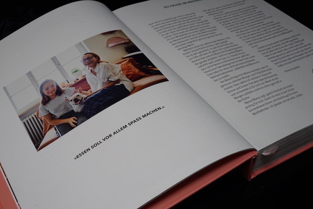 Zwei Sterneköchin Tanja Grandits ist ein Familienmensch. Ihrer Tochter Emma widmete sie ihr sechstes Kochbuch
