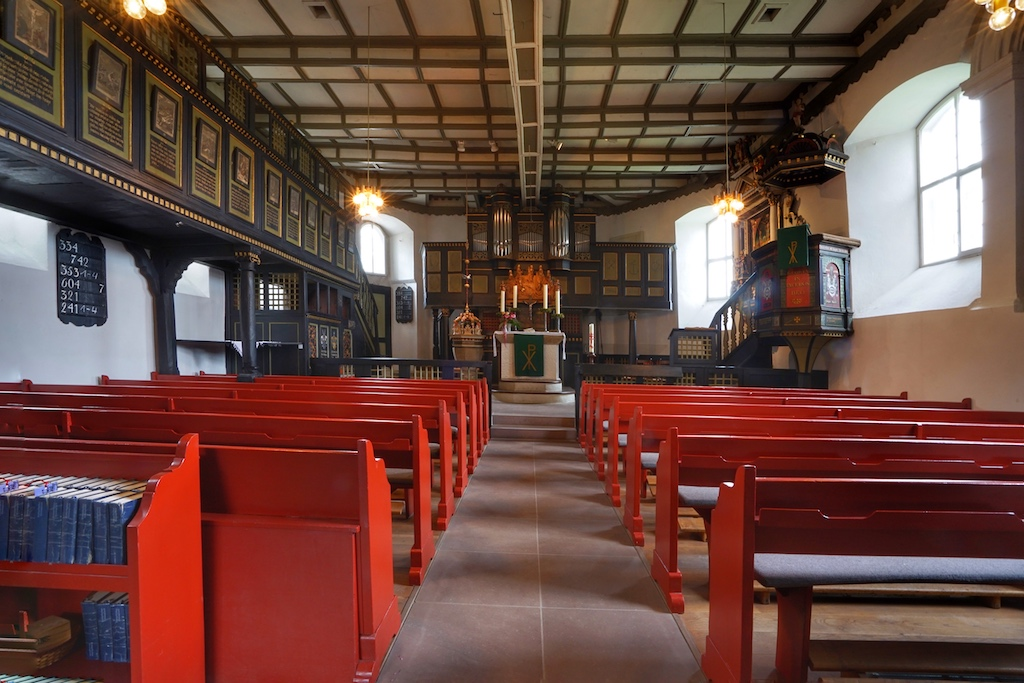 Innenansicht der Marienkirche