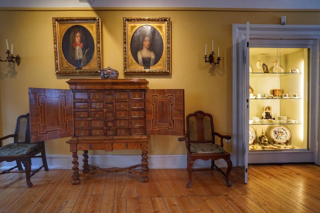 Die Ausstellungsräume spiegeln die Historie der Familie von Klencke wider