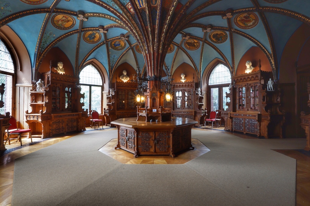 Schmuckstück des Schlosses ist sicherlich die Bibliothek / © Redaktion FrontRowSociety.net