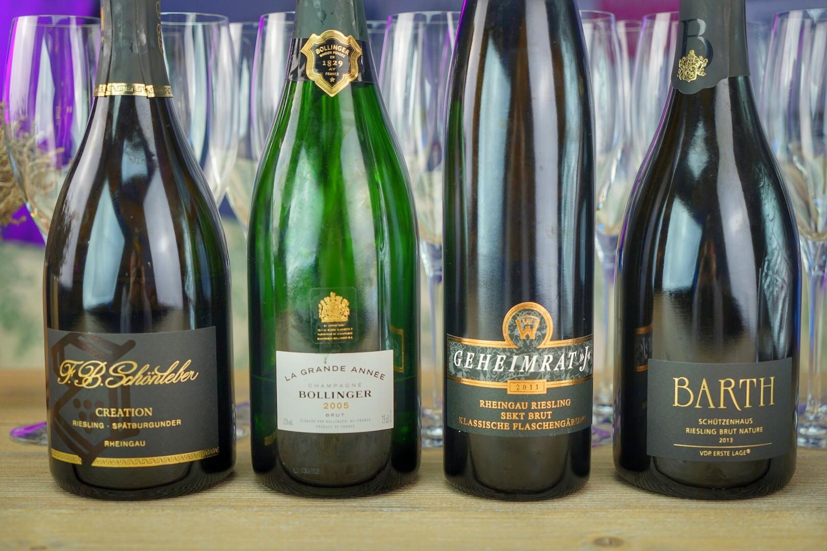 Sekt vs. Champagner: Dabei braucht sich der deutsche Qualitätsschaumwein nicht verstecken