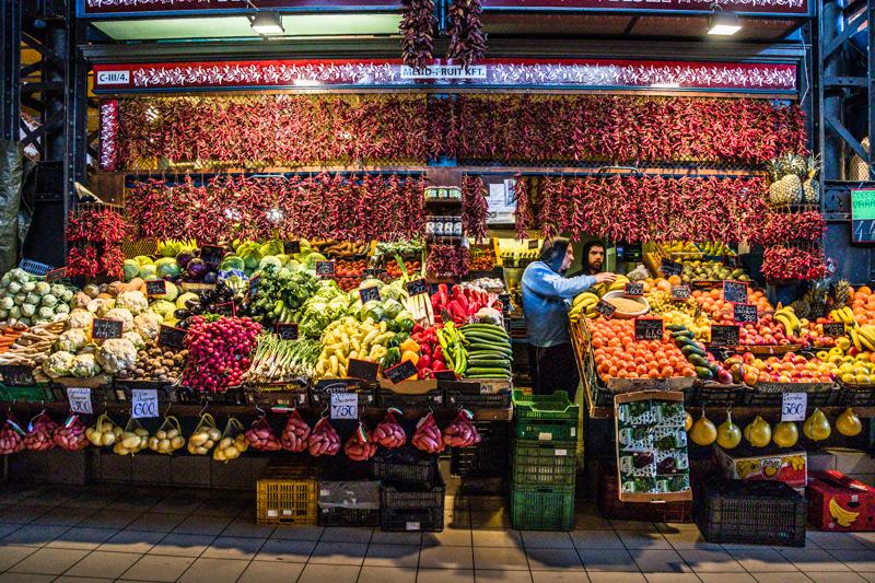 Gemüse und Obst soweit das Auge reicht / © FrontRowSociety.net, Foto: Georg Berg