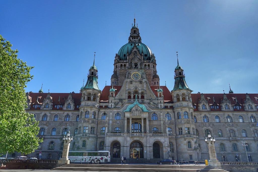 Das Neue Rathaus ist der Blickfang Hannovers in seiner ganzen wilhelminischen Pracht