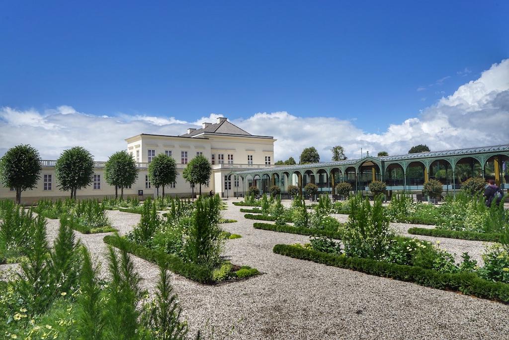 Der Große Garten umfasst ein weitläufiges Areal