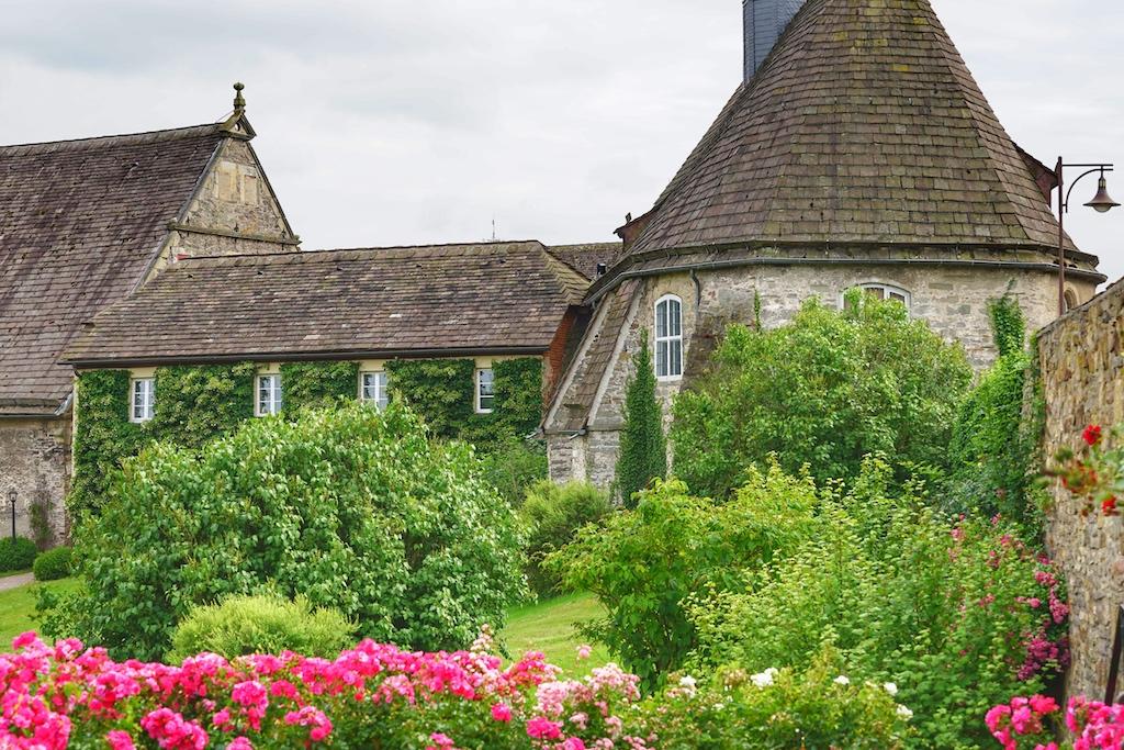 Glücklicher Weise hat Schloss Hämelschenburg Krieg und Verwüstung trotzen können